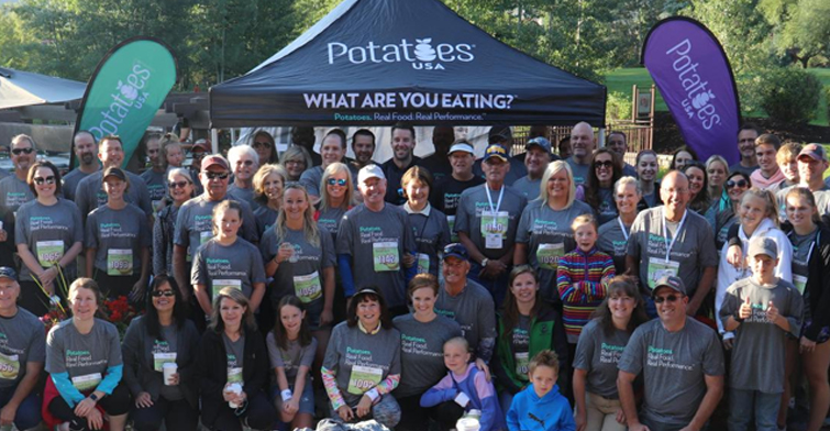 Potatoes USA staff and family